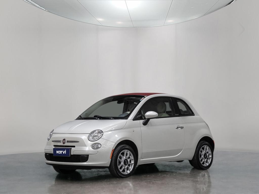 Seminovos certificados FIAT 500 1.4 CABRIO 8V FLEX 2P MANUAL